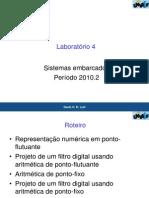 lab4_filtroDigital_pontoFixo