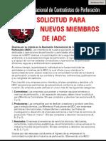2011 Membership Application Espanol