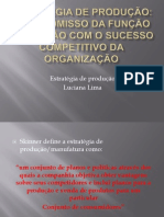 Responsabilidade dos gestores da produção