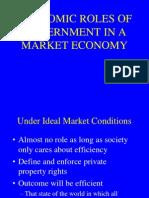 Economic Roles of Government