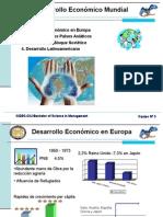 Desarrollo Economico Mundial
