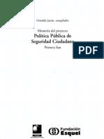 24. La Reforma Policial en Colombia. Estela Baracaldo