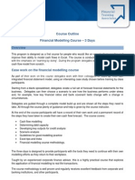 Financial Modelling Course