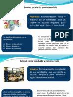 Diferencias y Similitudes Entre Productos y Servicios