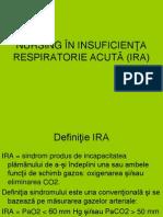 Nursing in Insuficienta Respiratorie Acuta