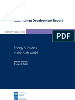 Energy Subsidies Bassam Fattouh Final