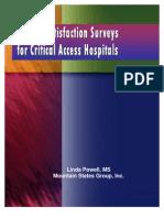 Assessing Patient Satisfaction