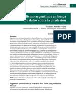 Investigación Periodismo Argentino Adriana Amado