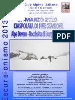 Ciaspolata di Fine Stagione - Alpe Devero