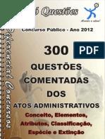 atos administrativos- questões