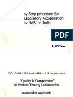 Step by Step Procedure for Medical Laboratory Accreditation