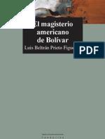 Luis Beltrc3a1n Prieto Figueroa Magisterio Americano de Bolc3advar1