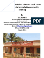Smokeless Cook Stove for Residential School-By s.khuntia-2.3.13