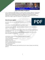 CTA Apprenticeship Program