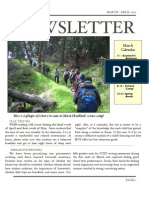 Newsletter March April 13