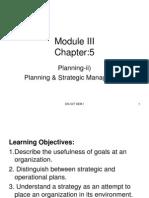 5 -Planning & Strategic Management