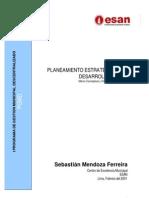 material lectura - UNIVERSIDAD ESAN Planeamiento Estratègico
