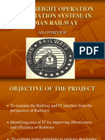 Fois Freightoperationinformationsysteminindianrailway 091012124153 Phpapp02