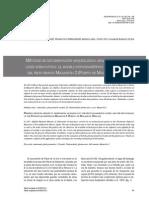 metodos de documentación arqueológica aplicados en arqueología subacuática