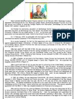 Resume of MGen NG Pajarito