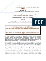 Paper - Inter Religious Dialogue on Conversions at Vatican 12 May 2006