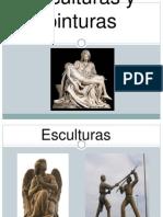 Esculturas y Pinturas