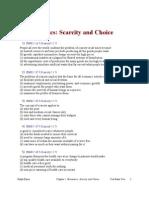 Economics Scarcity and Choice