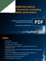 DEMCON Method (for Evaluating Demulsifier Performance)