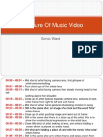 Structure of Music Video