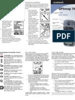GPSmap 76 - Guía de inicio rapido