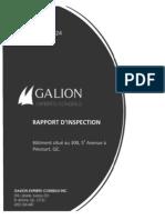 Galion Report Pincourt Sports Complex