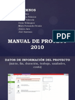 Manual de Proyect 2010