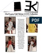 Elie Kuame Fall/Winter 2013 Collection