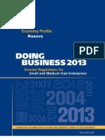 Doing Business 2013_KSV Profile