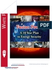 Fusion Power - A 10 Year Plan to Energy Security - White Paper 2013