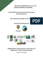 Areas Prioritarias Conservacion 2008