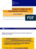 Directrices Para La Redaccion de Documentos Cientificos