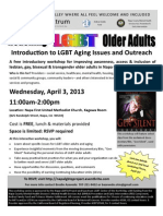 Intro LGBT Older Adults April 3, 2013