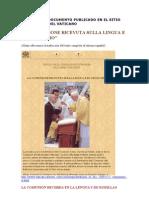 Importante Documento Publicado en El Sitio Web Oficial Del Vaticano