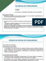 CÓDIGO DE DEFESA DO CONSUMIDOR 1ºMODULO