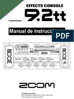 Manual de Pedalera G92tt