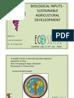 Bioinsumos y Desarrollo Sostenible