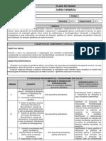 Plano de Ensino Genetica Molecular 2013.1