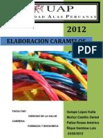 Informe n6 Elaboracion de Caramelos