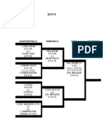 2013 Tdsl Soccer Tounament Boys Bracket