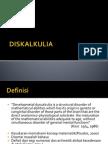 diskalkulia