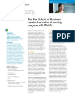 WebEx eLearning
