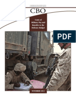 CBO Costs of Military Pay and Benefits in the Defense Budget NOVEMBER 2012