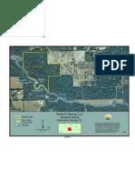 Santa Fe Springs denoted on map