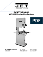 JWBS 18 Manual